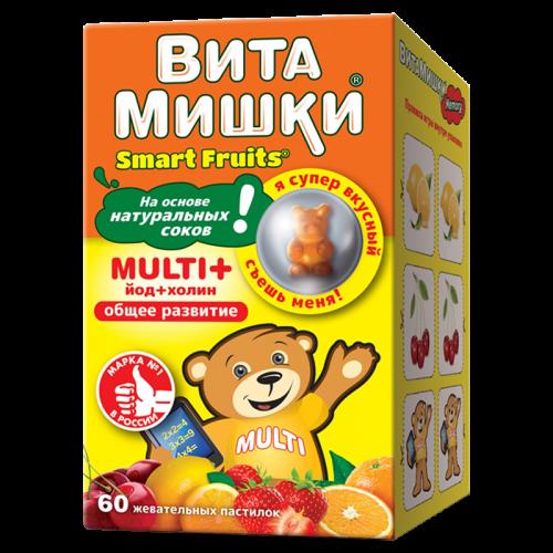 ВитаМишки Мульти плюс таблетки жевательные №60