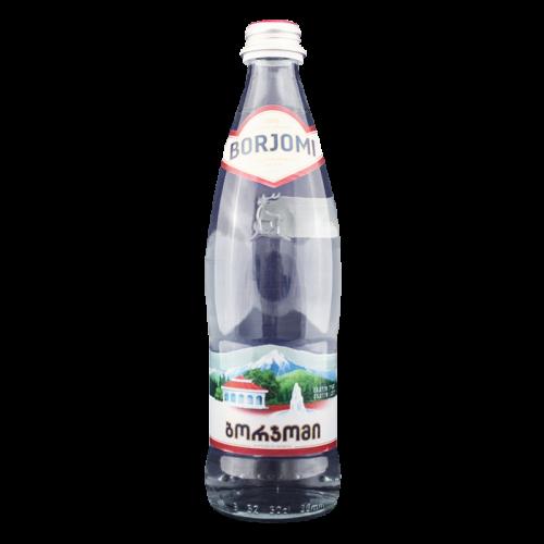 Вода минеральная  Боржоми 0,5л. стекло