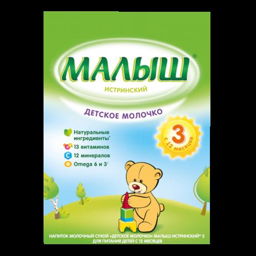 Малыш-3 Истринский Напиток молочный сухой 350г