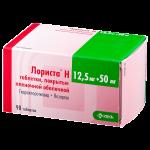 Лориста Н таблетки 50/12.5мг №90