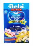 Беби Премиум Каша Для сладких снов 3 злака/яблоко/ромашка  молоко 200г