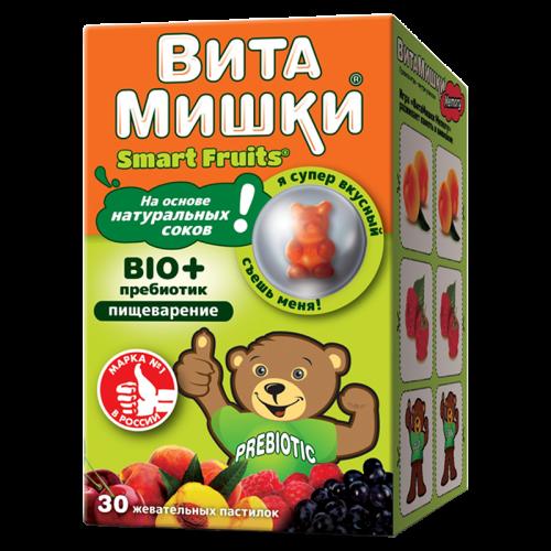 ВитаМишки Био плюс таблетки жевательные №30
