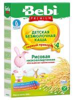 Беби Премиум Каша без молочная Рис низко аллергенная с пребиотиками 200г