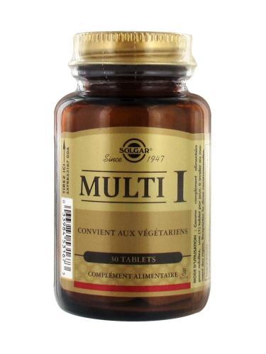 Солгар Мульти-1 таблетки №30