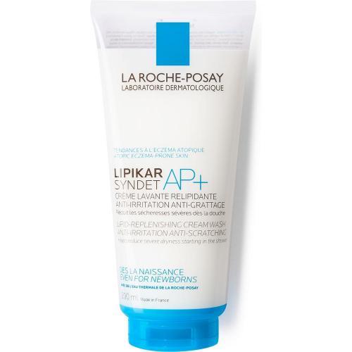 LA ROCHE-POSAY LIPIKAR Syndet AP+ Липидовосстанавливающий очищающий крем-гель для лица и тела, 200 мл