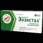 Энзистал таблетки  №20