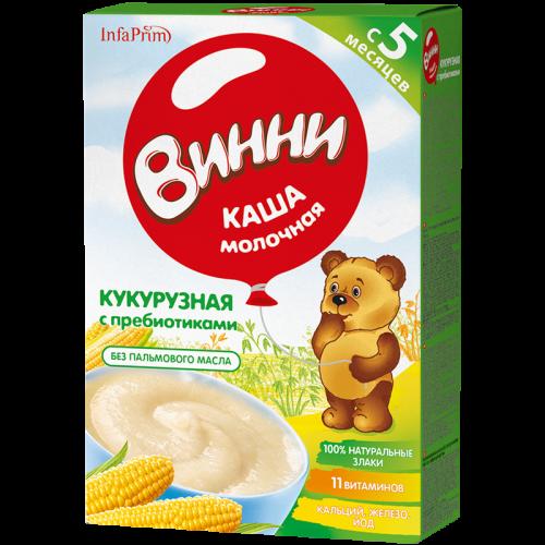 Винни Каша молочная Кукурузная 200г