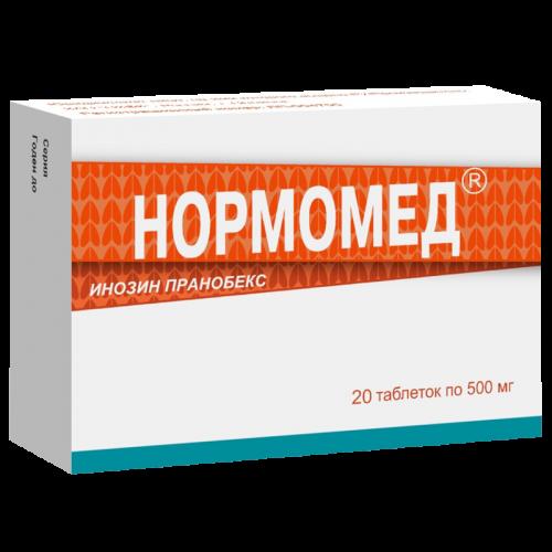 Нормомед таблетки 500мг №20