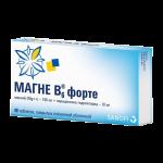 Магне-В6 форте таблетки №40