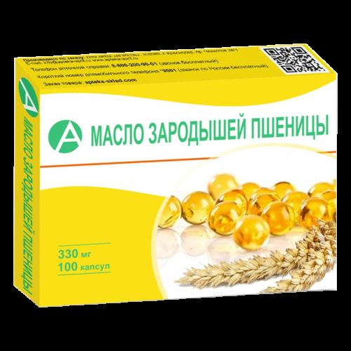 Масло зародышей пшеницы капс. 330мг №100
