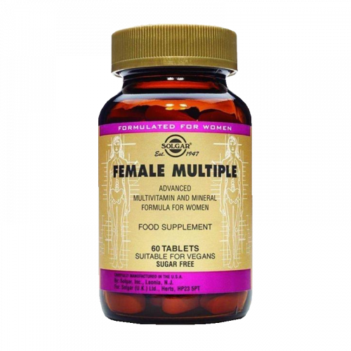 Солгар Мультивитаминный  минеральный комплекс для женщин таблетки №60
