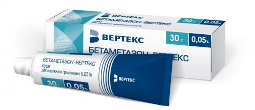 Бетаметазон-Вертекс крем 0.05% 30г