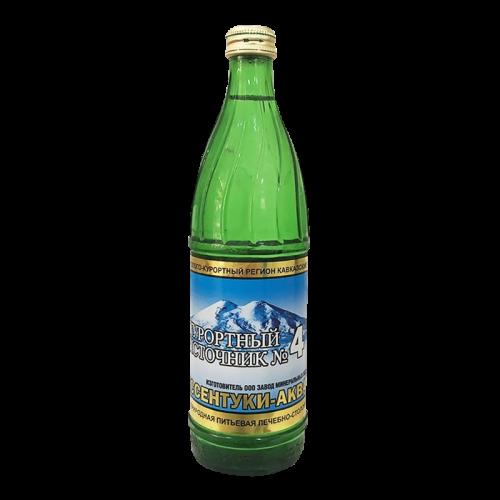 Минеральная вода Курортный источник №4 0,5л элита №6 Ессентуки-Аква спайка