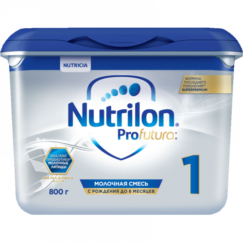 Нутрилон 1 Суперпремиум Профутура молочная смесь 800г