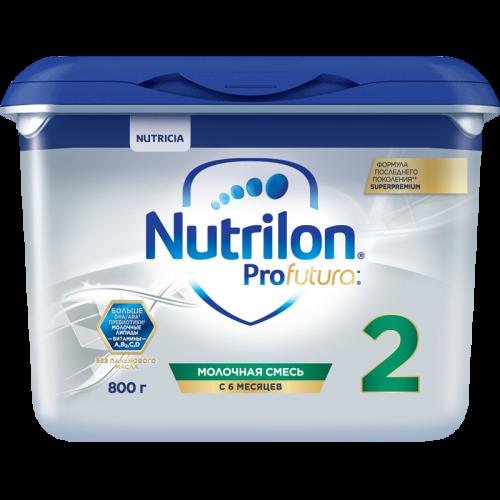 Нутрилон 2 Суперпремиум Профутура молочная смесь 800г
