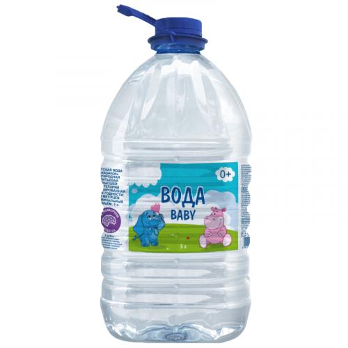 Вода питьевая детская высшей категории негазированная 5л