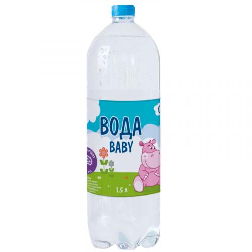 Вода питьевая детская высшей категории негаз. 1,5л
