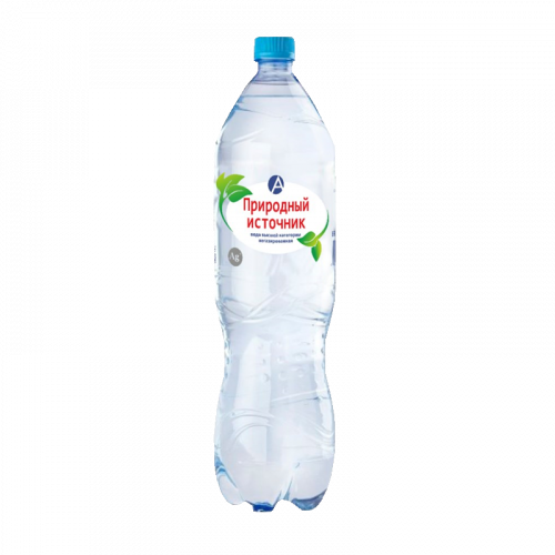 Вода питьевая артезианская высшей категории Природный источник негазированная 1,5л
