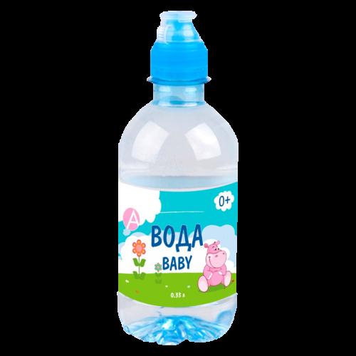 Вода питьевая детская высшей категории негаз. 0,33л