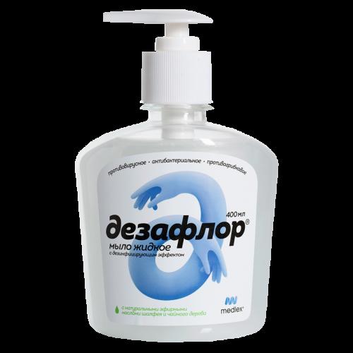 Дезафлор жидкое мыло с дезинфицирующим эффектом 400мл
