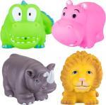 Курносики Набор игрушек для ванны Африка 4 шт