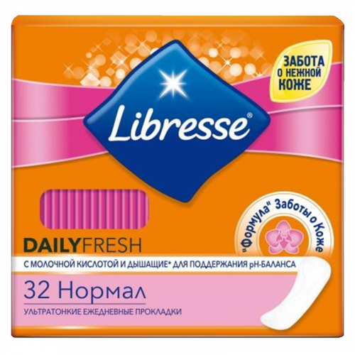 Прокладки ежедневные Либресс Дэлифреш нормал №32