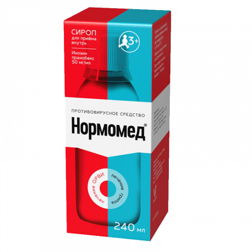 Нормомед сироп 50мг/мл фл. 240мл