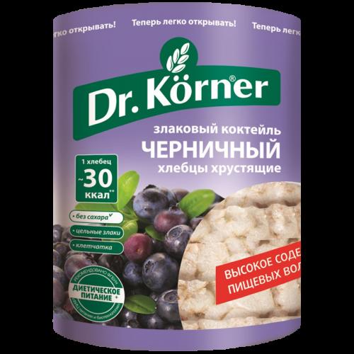 Хлебцы Доктор Кёрнер злаковый коктейль Черника 100гр
