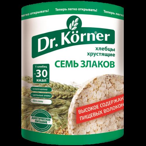 Хлебцы Доктор Кёрнер семь злаков 100гр