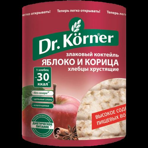Хлебцы Доктор Кёрнер злаковый коктейль Яблочный с корицей