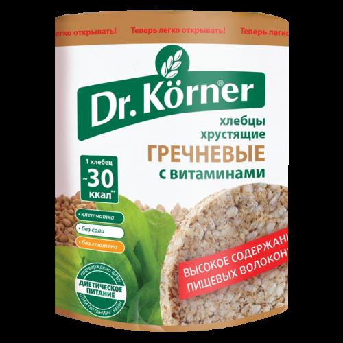 Хлебцы Доктор Кёрнер Гречневые с витаминами 100гр