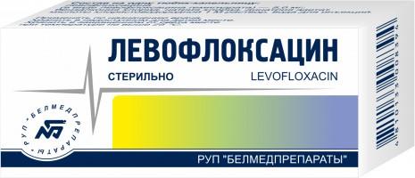 Левофлоксацин глазные капли 0,5% фл. 5мл