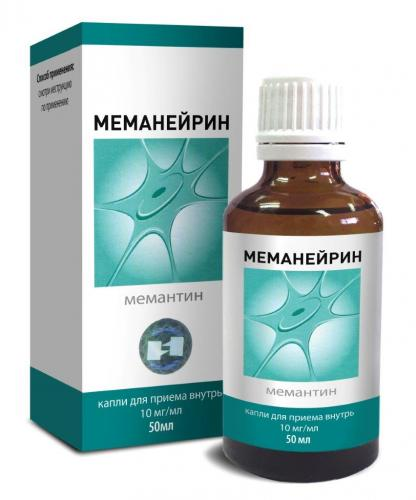 Меманейрин капли 10мг/мл фл. 50мл