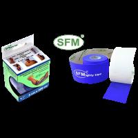 Кинезио-тейп Лента SFM-Plaster синий 5смх5м