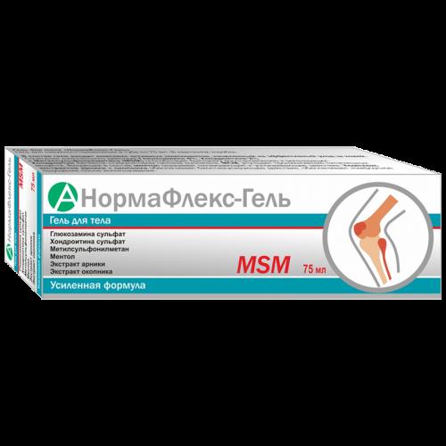 Гель для тела Нормафлекс MSM 75мл