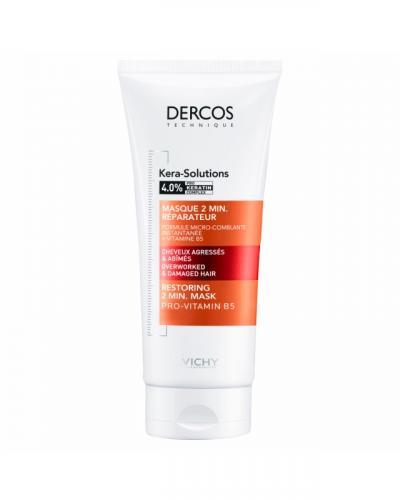 VICHY DERCOS Kera-Solutions Экспресс-маска с комплексом Про-Кератин, 200 мл