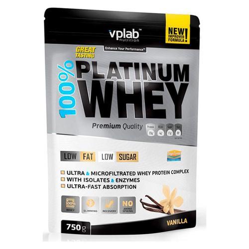 Спортивное питание Вплаб/Vplab Протеин 100% Платинум Вей ваниль 750г