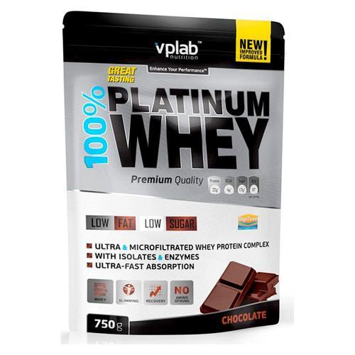 Спортивное питание Вплаб/Vplab Протеин 100% Платинум Вей шоколад 750г