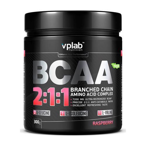 Спортивное питание Вплаб/Vplab Аминокислоты БЦА/BCAA 2:1:1 малина 300г
