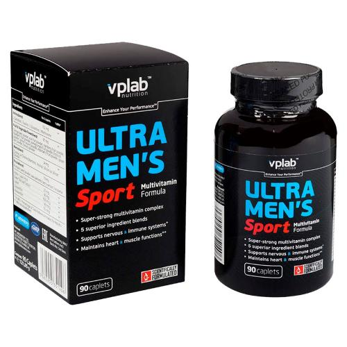 Вплаб/Vplab Мультивитаминная формула для мужчин Ультра Менс Спорт 90 капсул