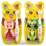 Силка набор детский зубная щетка с игрушкой с 3-х лет