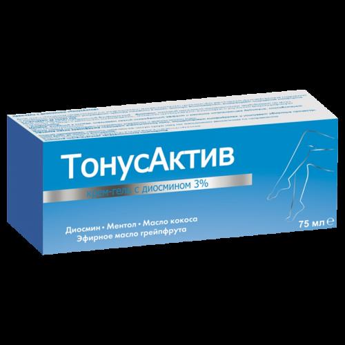 Крем-гель для ног ТонусАктив с диосмином 75мл
