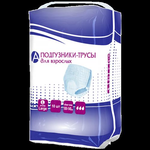 Подгузники-трусы для взрослых размер L №10
