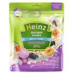 Хайнц Кашка Лакомая молочная Рисовая абрикос/чернослив 170г