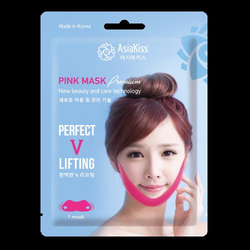 Азия Кисс Лифтинг-маска против второго подбородка