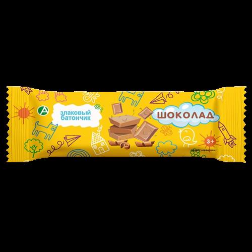 Батончик-мюсли детский злаковый Шоколад 24г