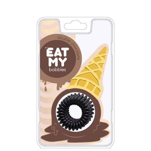 Eat My Bobbles Резинки для волос Double chocolate - Двойной шоколад 3 шт
