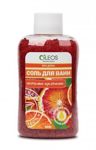 Соль для ванн морская Цитрусовое настроение 400г