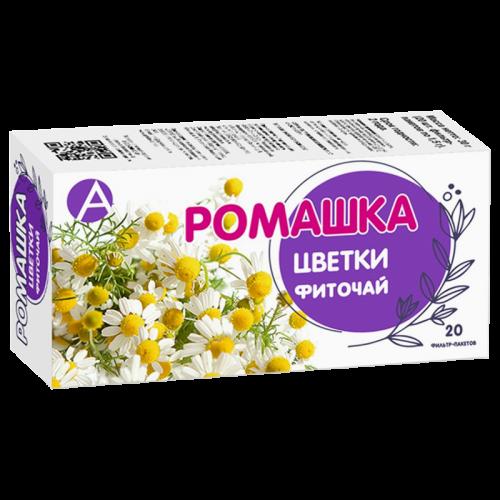 Ромашка цветки фильтр-пакеты 1,5г №20