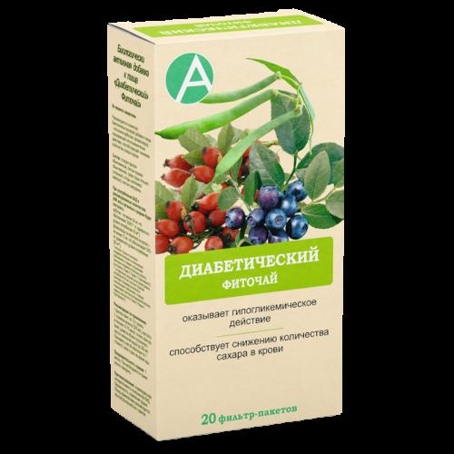 Фиточай Диабетический фильтр-пакеты 1,5г №20